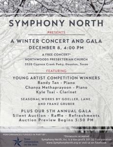 Concert Gala Flyer
